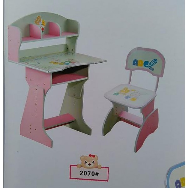 Kids Study Table With Chair 2070