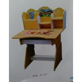 Kids Study Table With Chair C01